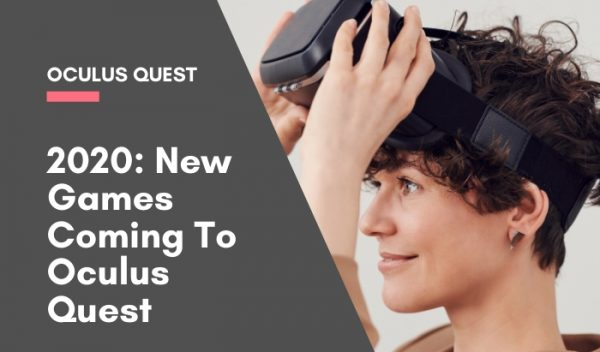 New games coming to oculus quest