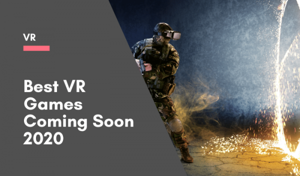 Virtual reality games cooming soon in 2020